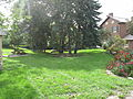 Backyard of historic Bovaird House 2.JPG