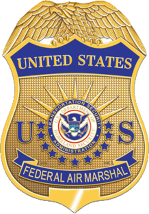 Federal Air Marshal Service - Image: Badge of the United States Federal Air Marshal Service