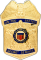 Secret Service badge (1971–2003)