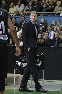 Latvian basketball player and coach