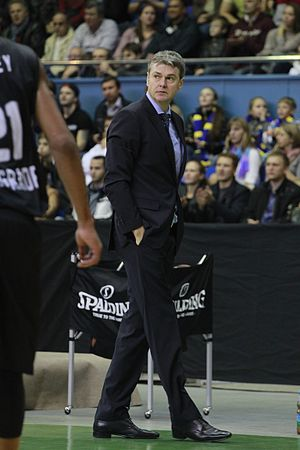 Ainars Bagatskis - Bagatskis as the Budivelnyk Kiev head coach in October 2013.
