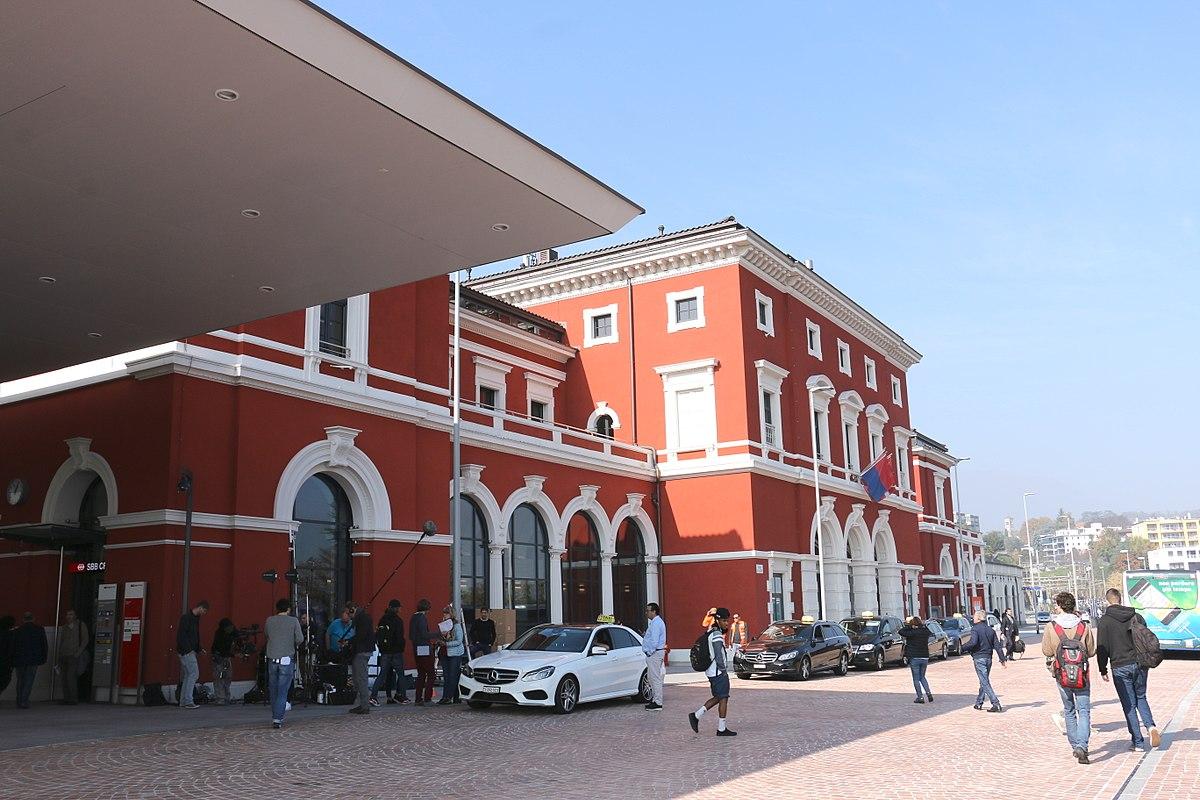 lugano railway station wikipedia