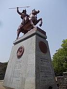 Статуя Баджирао I, Шаниварвада, Пуна.jpg