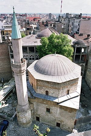 Sokollu Mehmed Pasha - Bajrakli Mosque, Belgrade from 1575 (See also: Belgrade printing house from 1552.)