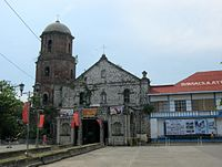Balayan Church Facade.JPG