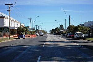 Balranald - The Sturt Highway at Balranald