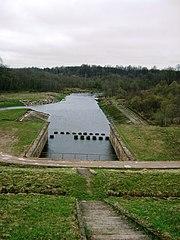 Jūra.Balskų HE.Foto:Andrjusgeo at lt.wikipedia
