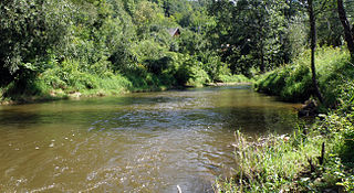 Kamienna (river) river in Poland