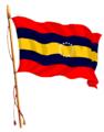 Bandera de la Provincia de Loja flameando.png