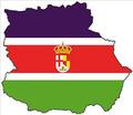 Bandera y Mapa de Andalucía Oriental.png