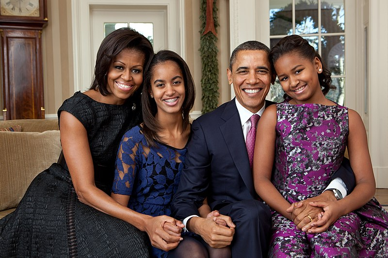 File:Barack Obama family portrait 2011.jpg