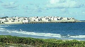 Barawa - The Barawa seafront.