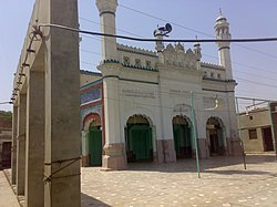 The city's old congregational Jamia Mosque