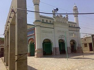 Khanewal - Image: Bari . Jamiya . Masjid . Old . Khanewal . Pakistan . panoramio