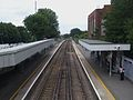 Barnehurst station high eastbound.JPG