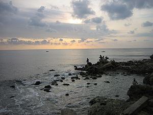 Barranquilla, el mar desde las Bocas de Cenizas-20050625