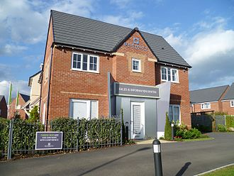 Barratt Developments - A Barratt Homes sales and information centre