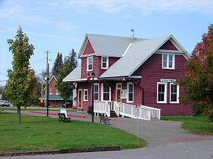 Madawaska Valley, Ontario - Tourist office in Barry's Bay