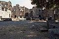 Basilica Complex, Qanawat (قنوات), Syria - West part- view of adyton from north through cella - PHBZ024 2016 3555 - Dumbarton Oaks.jpg