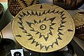 Basket tray, Maidu, before 1932 - Oakland Museum of California - DSC05044.JPG