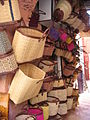 Baskets on display, Marrakech (2901404315).jpg