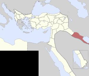 Basra Vilayet - Basra Vilayet in 1900