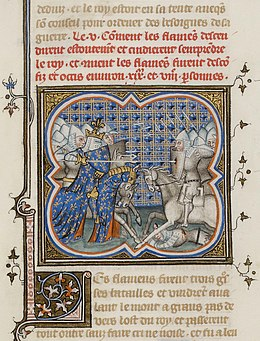 Description de l'image Bataille de Cassel (1328).jpg.