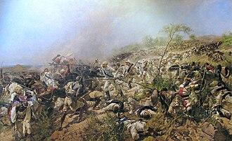 Battle of Dogali - Image: Bataille de Dogali