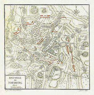 Battle of Freiberg - Image: Bataille de Freiberg