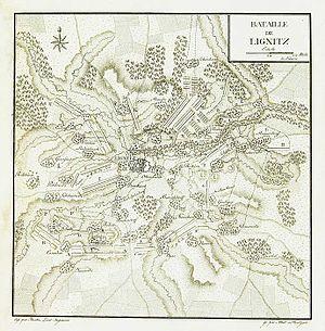 Battle of Liegnitz (1760) - Image: Bataille de Lignitz
