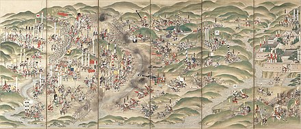 June 28: Battle of Nagashino Battle of Nagashino.jpg