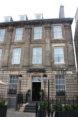 Robert Stevenson (civil engineer) - 1 Baxters Place, Edinburgh