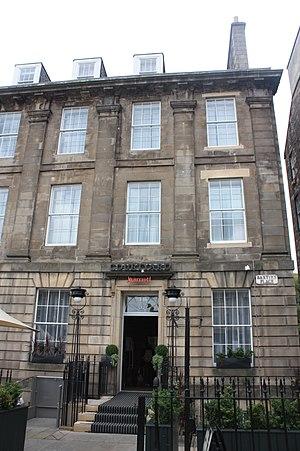 David Stevenson (engineer) - Baxters Place, Edinburgh