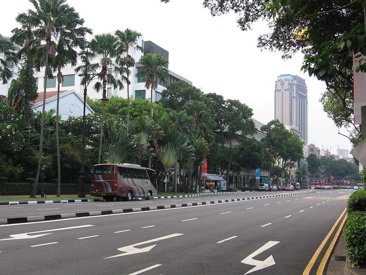 Singapore maps - area and city street maps of Singapore