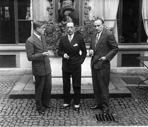Conrad Beck - Image: Beck Stravinsky Sacher