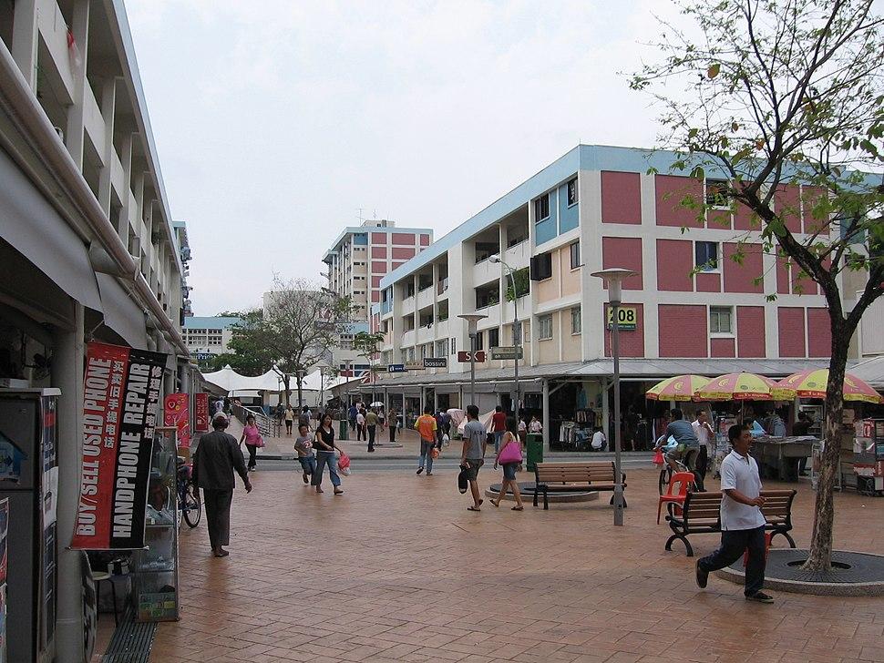 Bedok Town Centre, Aug 06