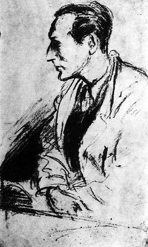 Bedřich Fritta - Bedřich Fritta (Portrait by Peter Kien, Theresienstadt)