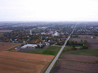 Beecher, Illinois - Beecher, looking east