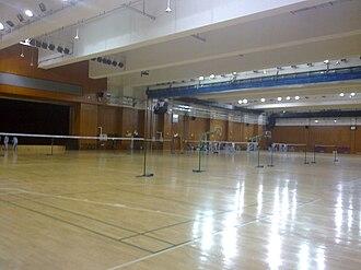 Beijing No. 8 High School - Underground Basketball Stadium