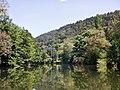 Beim 366 km langen Neckartalradweg, Neckar zwischen Sulz und Horb - panoramio (26).jpg