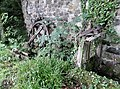 Bello Mill sluice and waterwheel, Lugar, Scotland.jpg