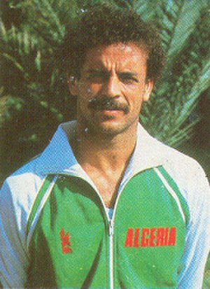Algeria national football team - Belloumi, the legendary football player of Algeria