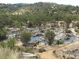 Brigadoon, Western Australia - Bells Rapids at Brigadoon.