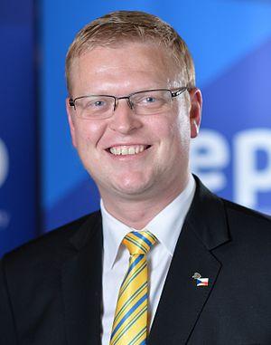 Pavel Bělobrádek - Image: Belobradek (cropped)