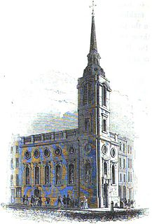St Benet Gracechurch Church in London