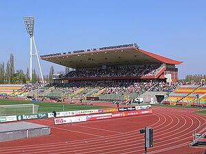 2014–15 UEFA Women's Champions League - Image: Berlin Jahnsportpark 2