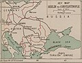Berlin to Constantinople - Bacon's war map of Mesopotamia (5008076) (cropped).jpg