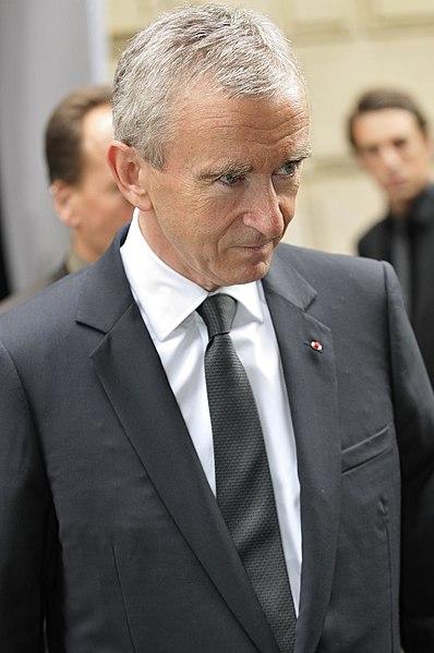 le milliardaire français: Bernard Arnault
