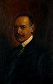 Bernard Hollander, phrenologist. Oil painting. Wellcome V0017929.jpg
