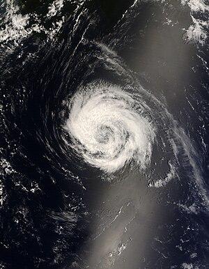 Hurricane Bertha (2008) - Tropical Storm Bertha near Bermuda on July 14